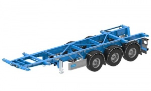 Container Carrier CC-2030-3-F Containerauflieger | Containerchassis
